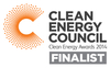 LG solar nominated for CEC Award