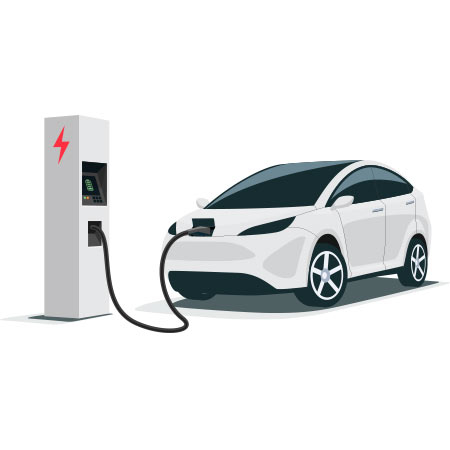 How long does it take to charge an electric vehicle and what is the cost?