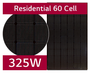 LG 325W NeON® 2 Black Solar Panels - sleek and efficient | LG Solar
