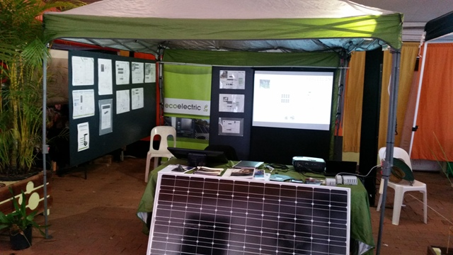 Ecoelectric at a show