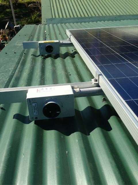 J Fahey Moruya, rooftop isolators