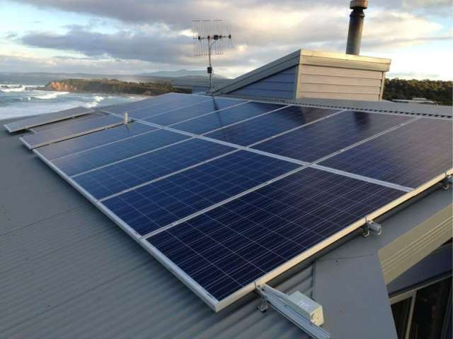 Walk in or call us for free consultation. Solar PV installation at Potato Point,NSW