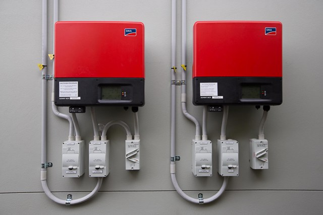 We only use the top of the range inverters and panels