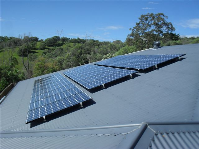 A 5,5kW system will supply a standard residential system with a significant amount of their required electricity