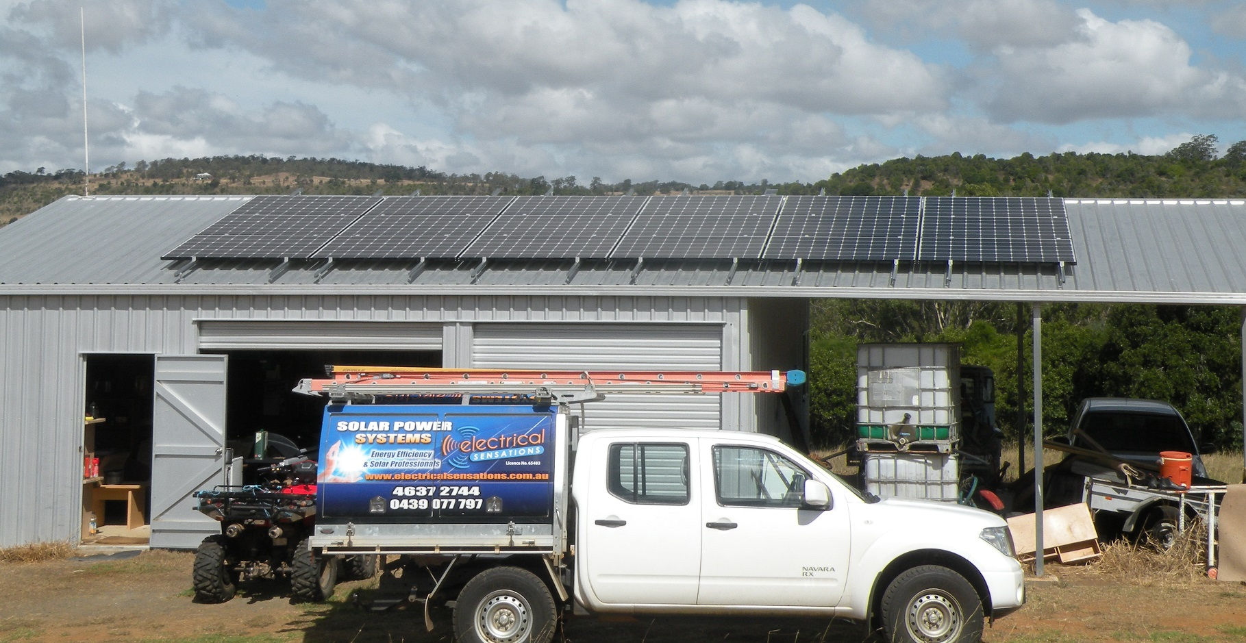 Remote area solar power systems demand the ultimate in reliability and performance. This 5.6kW system consisting of 18 x 315W LG Noen solar panels, an Ecoult battery and a SP Pro inverter provides outstanding solar production, reliability and longevity for the owner and his family.