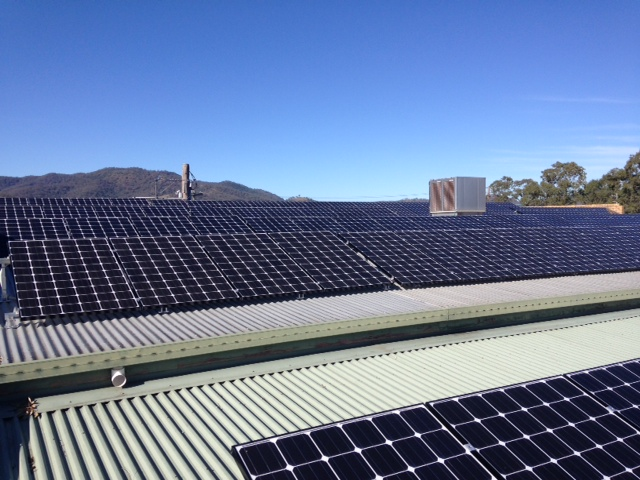 30 kW system with LG265W panels – Kootingal Bowling Club