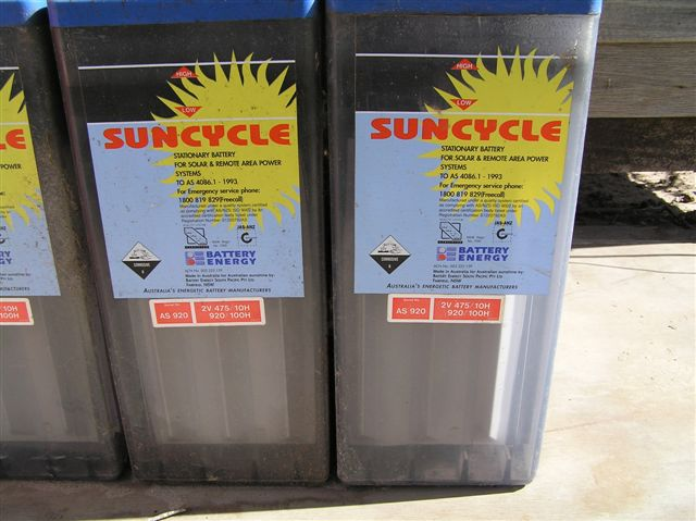 We have a very high level of experience in stand alone battery back up solar power systems