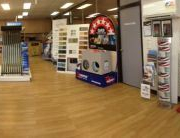We have many of our key products on display in our showroom