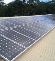 AHE has installed many commercial solar systems