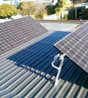 Solar PV installation with LG panels