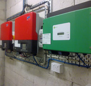 We make sure we use quality inverters, especially for multiple large scale commercial inverter installations