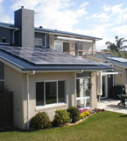 Multi-award winning home incorporating 3kW of solar panels