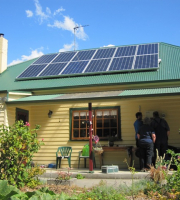 We install on average over 400 residential solar system each year