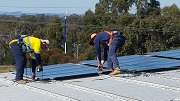 Safety and attention to detail is paramount in the installation of solar panels.
