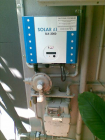 Poor positioning of inverter next to gas meter