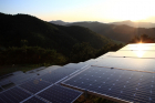 Many of LG's solar farms in Korea occupy mountainous terrain