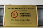 UL solar testing participation certificate