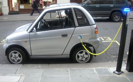 Electric car - future of solar power