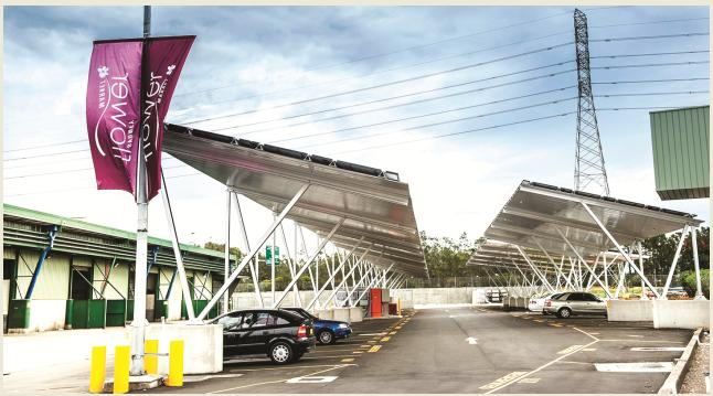 170kW at Sydney, Client: Sydney Markets (Phase 1)