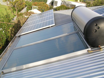 solar photovoltaic and solar hot water systems