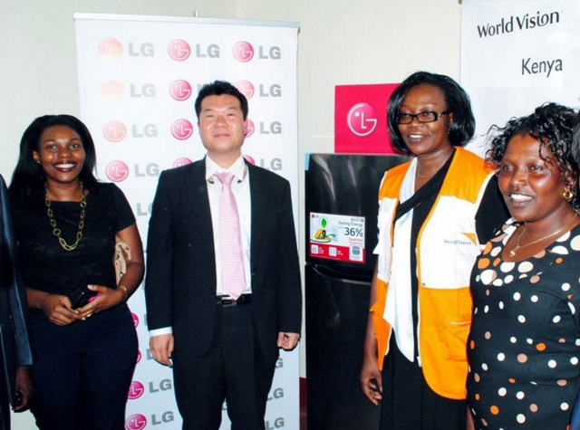 LG Electronics' partnership with the non-profit organization World Vision Kenya as well as the Ministry of Housing, Construction and Sanitation of Peru