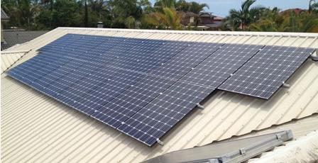 We pride ourself in high quality solarpower installations