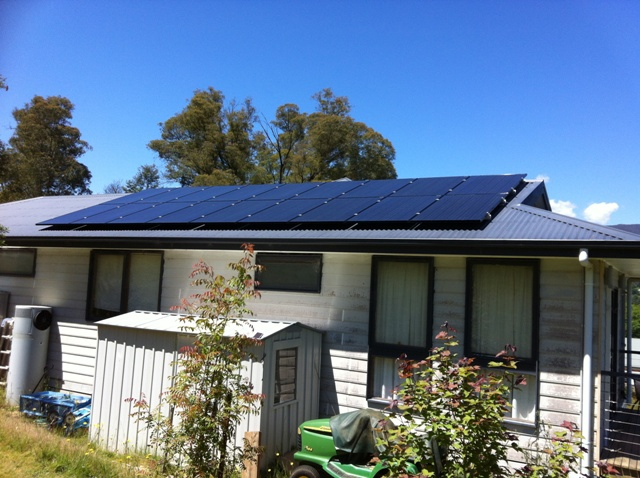 Solar system installed following all Australian standards
