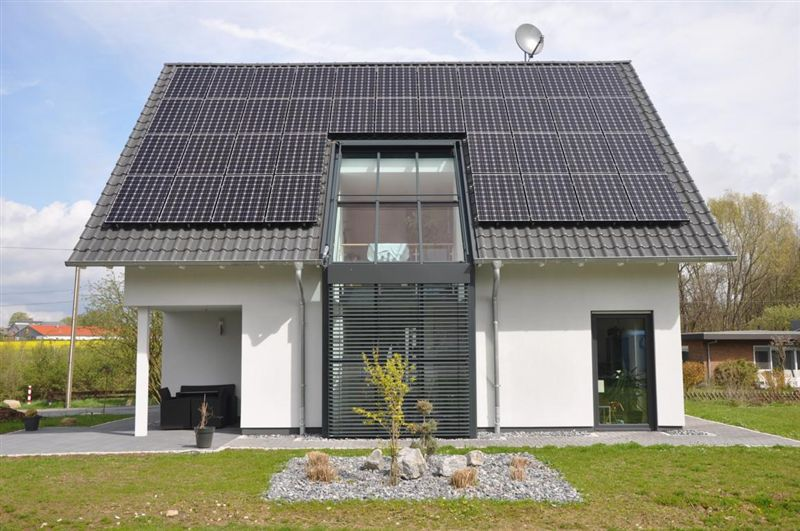 LG panels are installed around the world - German sample