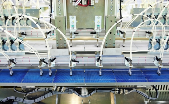 LG's factory is fully automated