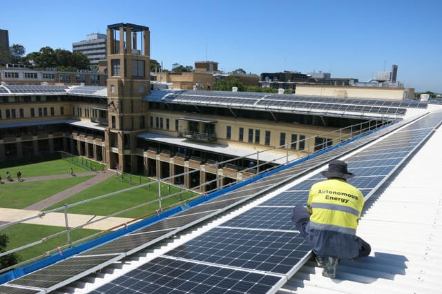 100kW at Sydney, Client: University of NSW