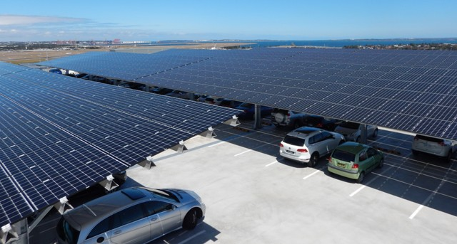 550kW at Sydney, Client: Sydney Airport (Lend Lease)