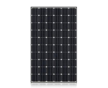 LG solar panel has 10 year product warranty