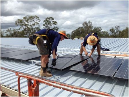 Installers at work - Future Sustainability