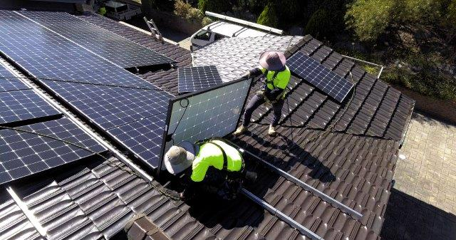Solar install by accredited installer