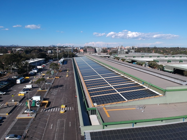 3.2MW at Sydney, Client: Sydney Markets (Phase 4)