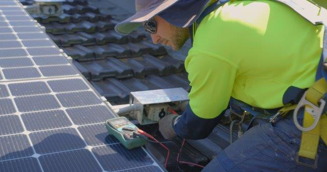 Qualified Installer and testing of solar function